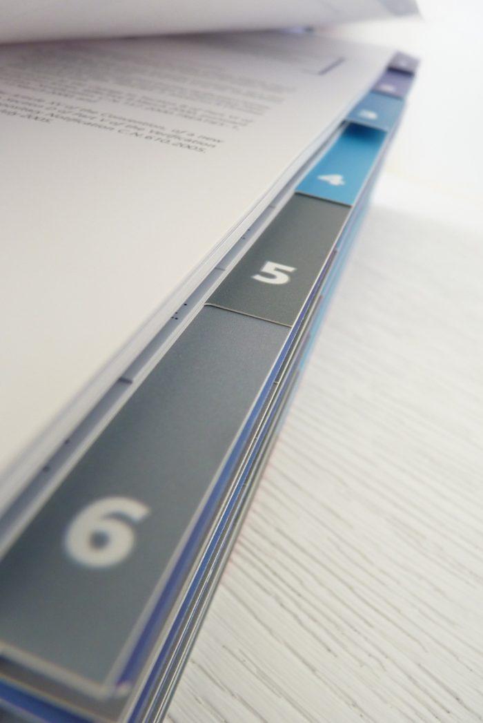 Brochures avec Encoches-répétoires